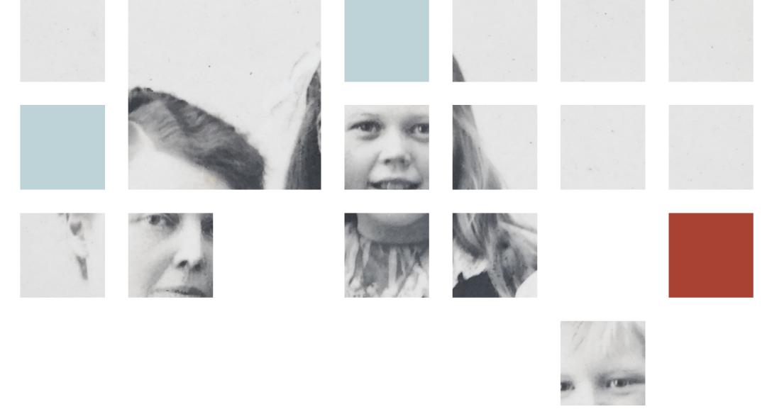 Slekt og Data illustrasjon av slektsforskning som puslespill