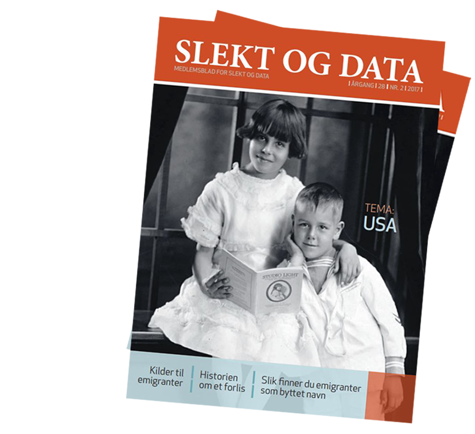 Slekt og Data temanummer om USA