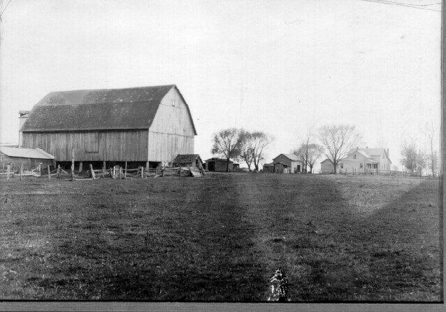 Bostedet i Wisconsin, 1930-årene. David Rueds samling