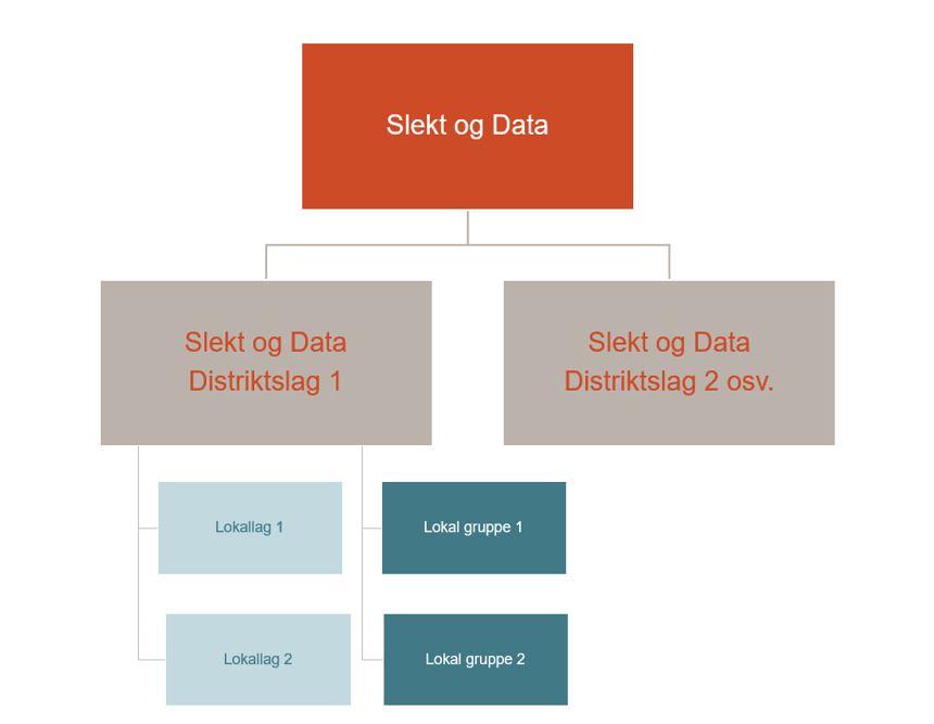 Slekt og Data - organisering av lokallag og lokale grupper