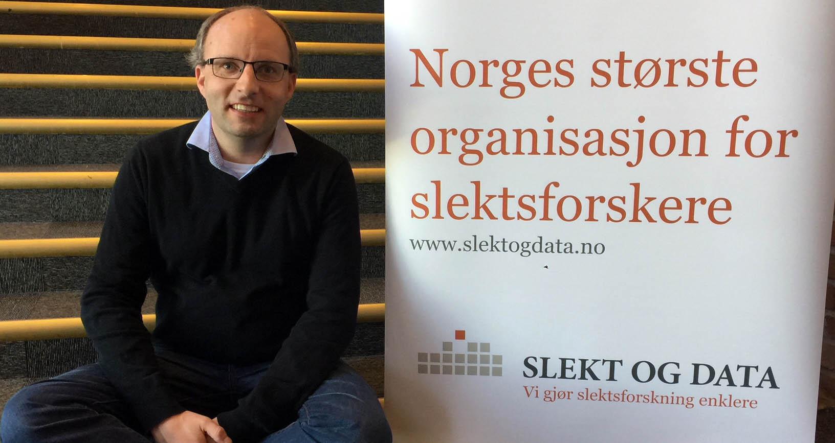 Styreleder i Slekt og Data Morten Thorvaldsen