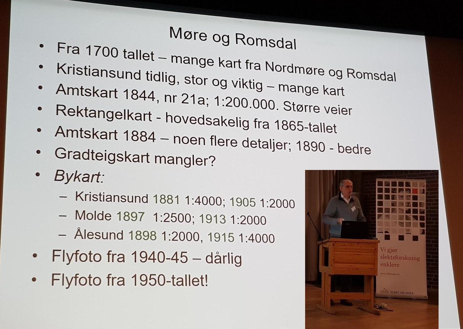 Gamle kart for Møre og Romsdal