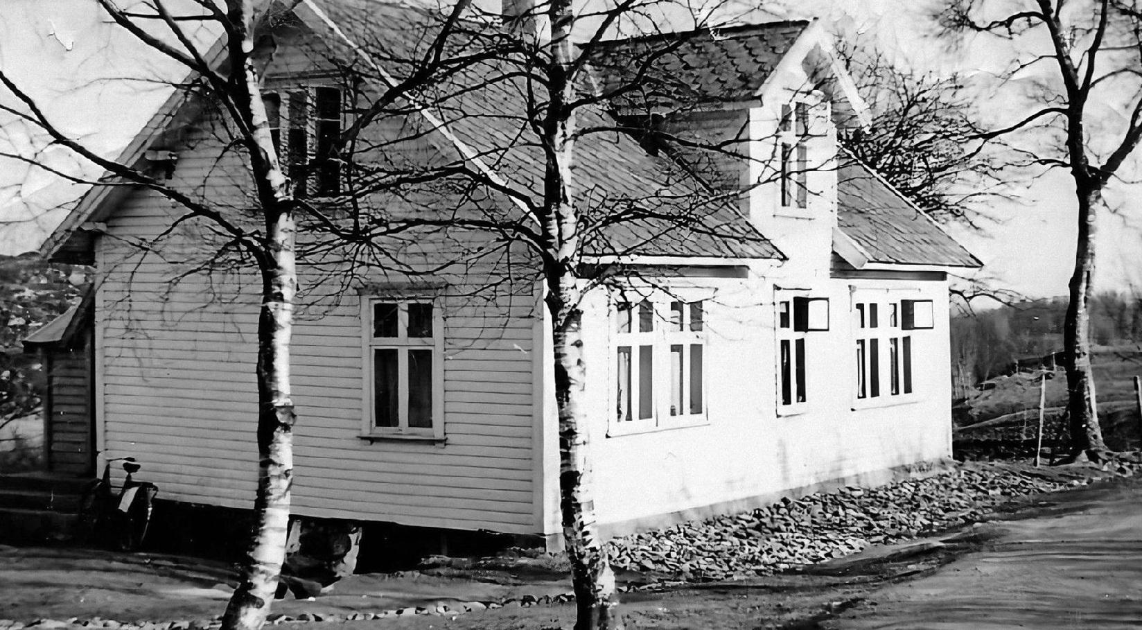 Huset på Dagsland bruk 4. Privat bilde. Fotograf Elmer Eikeland.