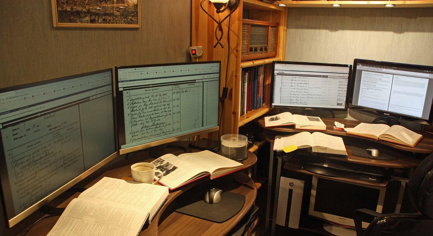 Retting og korrigering i bygdebøker