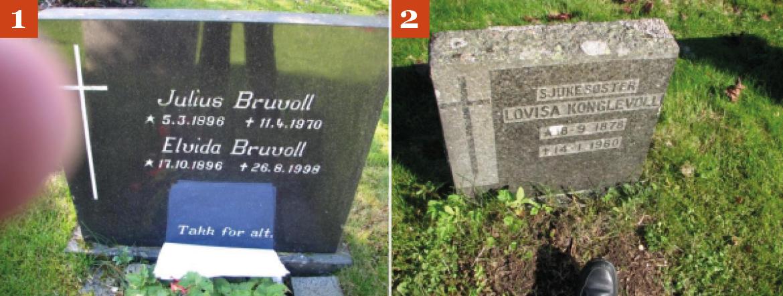 Dårlige bilder av gravsteiner 1