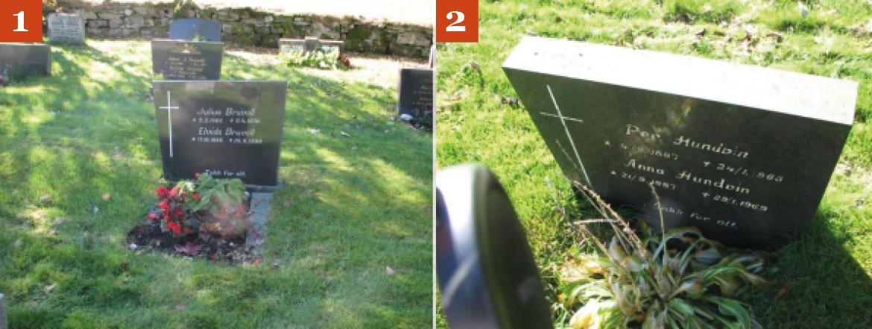 Dårlige bilder av gravsteiner 2