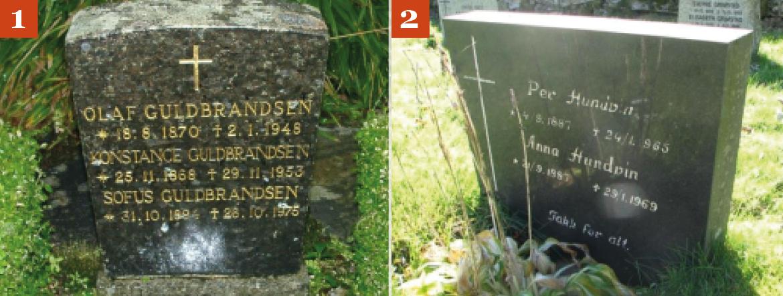 Dårlige bilder av gravsteiner 3