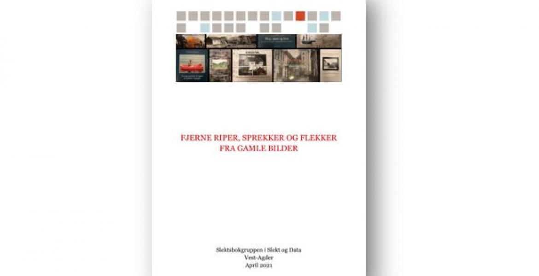 brosjyre om bearbeiding av bilder